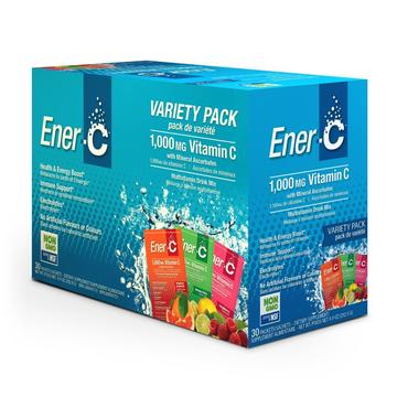 Ener-C Multi 30 pk - Single Servings 1000 mg Vitamin C - New Roads Nutrition