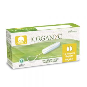 Organyc Tampons No applicator 16 ct - New Roads Nutrition