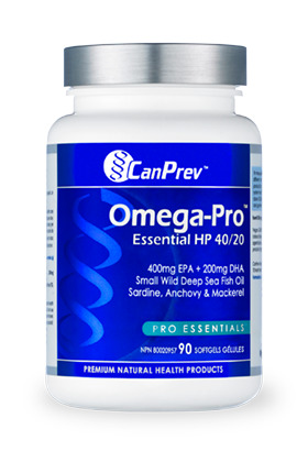 CanPrev Omega Pro Essentials HP 40/40 90 caps - New Roads Nutrition