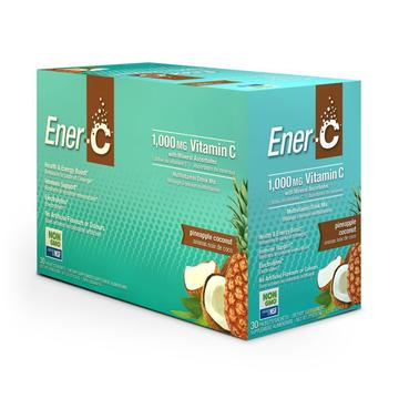 Ener-C Pineapple 30 pk - Single Servings 1000 mg Vitamin C - New Roads Nutrition