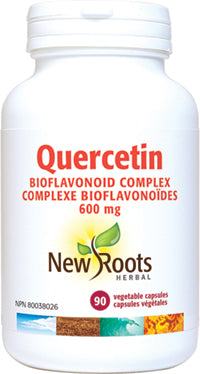 New Roots Quercetin Bioflavonoid  500 mg 90 caps - New Roads Nutrition