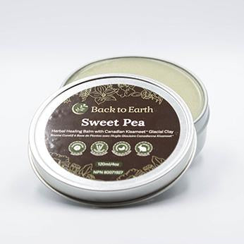 Back To Earth Sweet Pea Herbal Healing Cream 120 ml - New Roads Nutrition