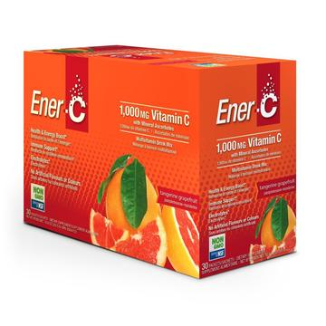 Ener-C Tangerine Grapefruit 30 pk - Single Servings 1000 mg Vitamin C - New Roads Nutrition