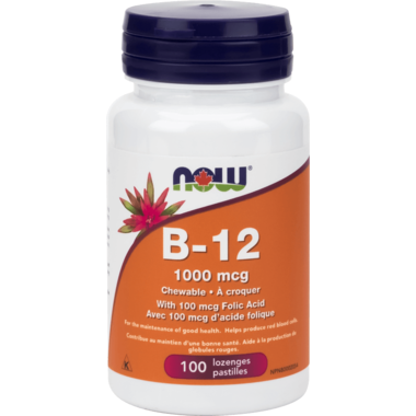 Now Vitamin B 12 100 tabs - New Roads Nutrition
