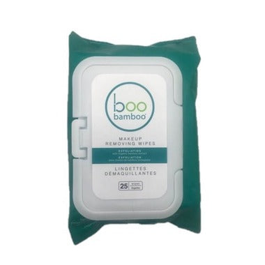 Boo Exfoliating Wipe MakeUp Remover 25ct - New Roads Nutrition