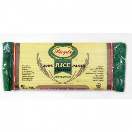 Pasta Rizopia Pasta Brown Rice Fettuccine 454 gr - New Roads Nutrition