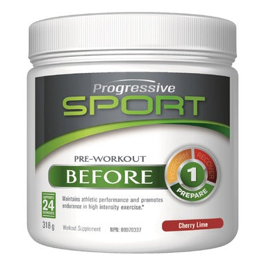 Progressive Sport Before Cherry  Lime 318 gr - New Roads Nutrition