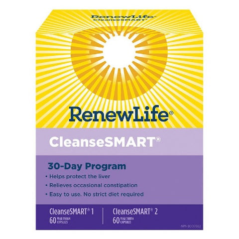 Renew Life Cleansesmart Kit 30 day program