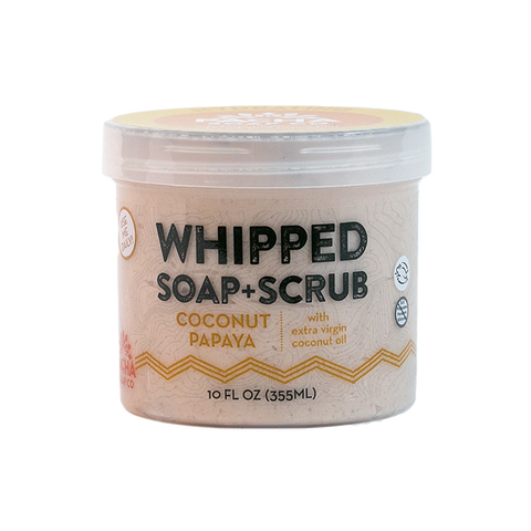Pacha Whipped Soap Coconut Papaya 284gr - New Roads Nutrition
