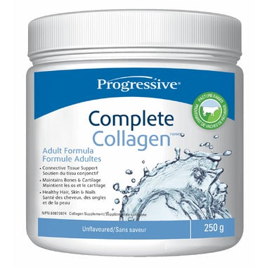 Progressive Complete Collagen 250g Unflavored - New Roads Nutrition