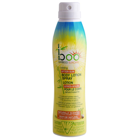 Boo Bamboo After Sun Cooling Body Moisture Mist 170gr - New Roads Nutrition