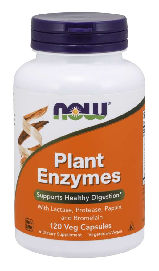 Now Plant Enzyme 120 caps - New Roads Nutrition