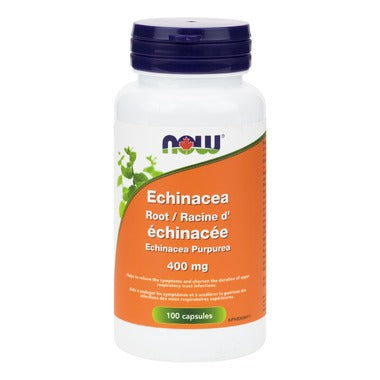 Now Echinacea Root 400 mg 100 caps - New Roads Nutrition
