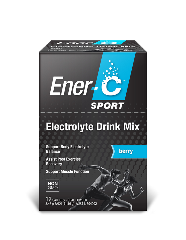 Ener-C Sport Electrolyte Drink  12 pack Berry - New Roads Nutrition