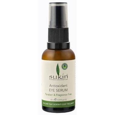 Sukin Eye Serum Antioxidant 30 ml - New Roads Nutrition