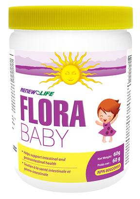 Renew Life Flora Baby 60 g - New Roads Nutrition