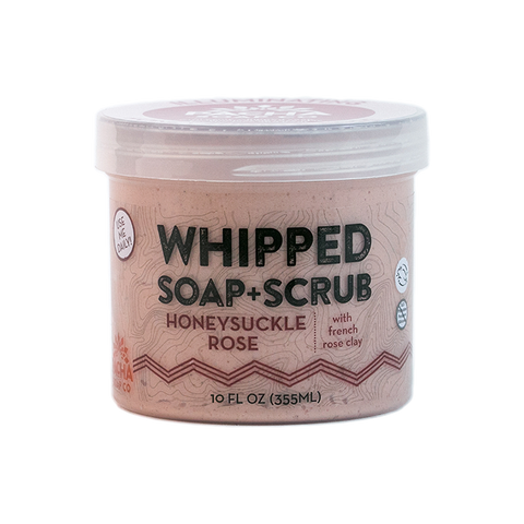Pacha Whipped Soap Honeysuckle Rose 284gr - New Roads Nutrition