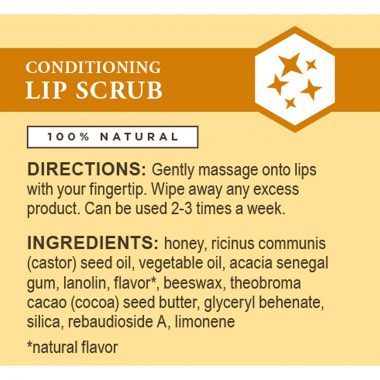 Burt's Bee's Conditioning Lip Scrub 100% Natural with Honey Crystals 7.08gr - New Roads Nutrition