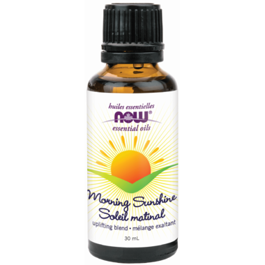 Now Morning Sunshine Essential Oil Blend 30 ml - New Roads Nutrition