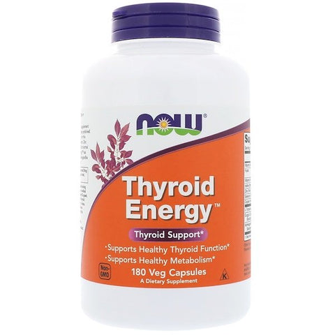 Now Thyroid Energy 180 caps - New Roads Nutrition