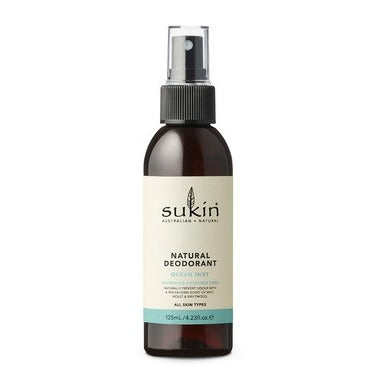 Sukin Ocean Mist Deodorant 125 ml - New Roads Nutrition