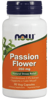 Now Passion Flower 350mg - 90 caps - New Roads Nutrition