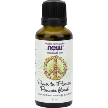 Now Power to Flower Essential Oil Blend 30 ml - New Roads Nutrition