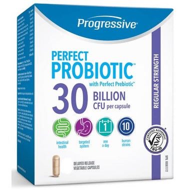 Progressive - Perfect Probiotic 30 B - 60caps - New Roads Nutrition