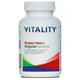 Vitality Iron + 60 caps Power - 45 mg - New Roads Nutrition