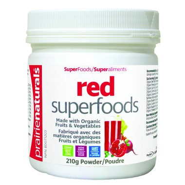 Prairie Naturals Red Superfood Organic 210gr - New Roads Nutrition
