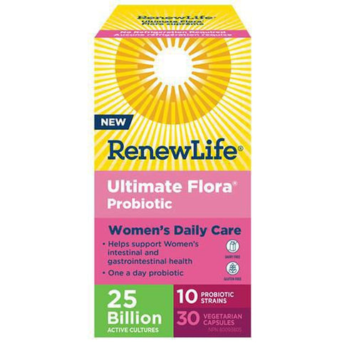 Renew Life Ultimate Flora Women's Daily Care 25 Billion