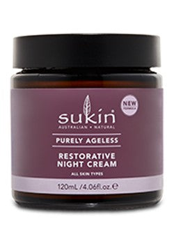 Sukin Night Cream Purely Ageless 120 ml - New Roads Nutrition