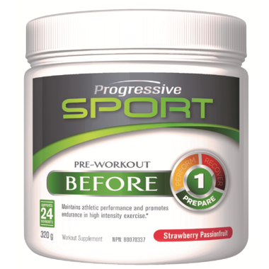 Progressive Sport Before Strawberry 318 gr - New Roads Nutrition