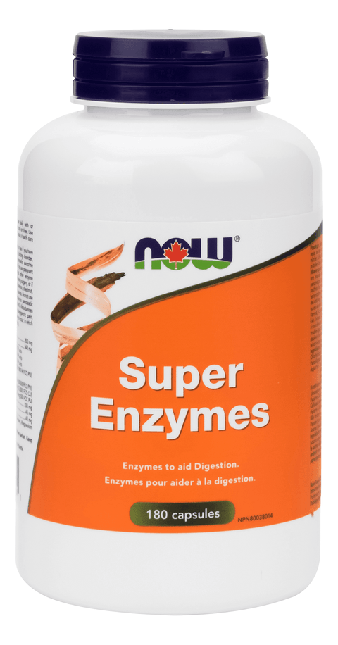 Now Super Enzymes 180 caps - New Roads Nutrition
