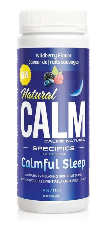 Natural Calm Wildberry 4 oz Calmful Sleep - New Roads Nutrition