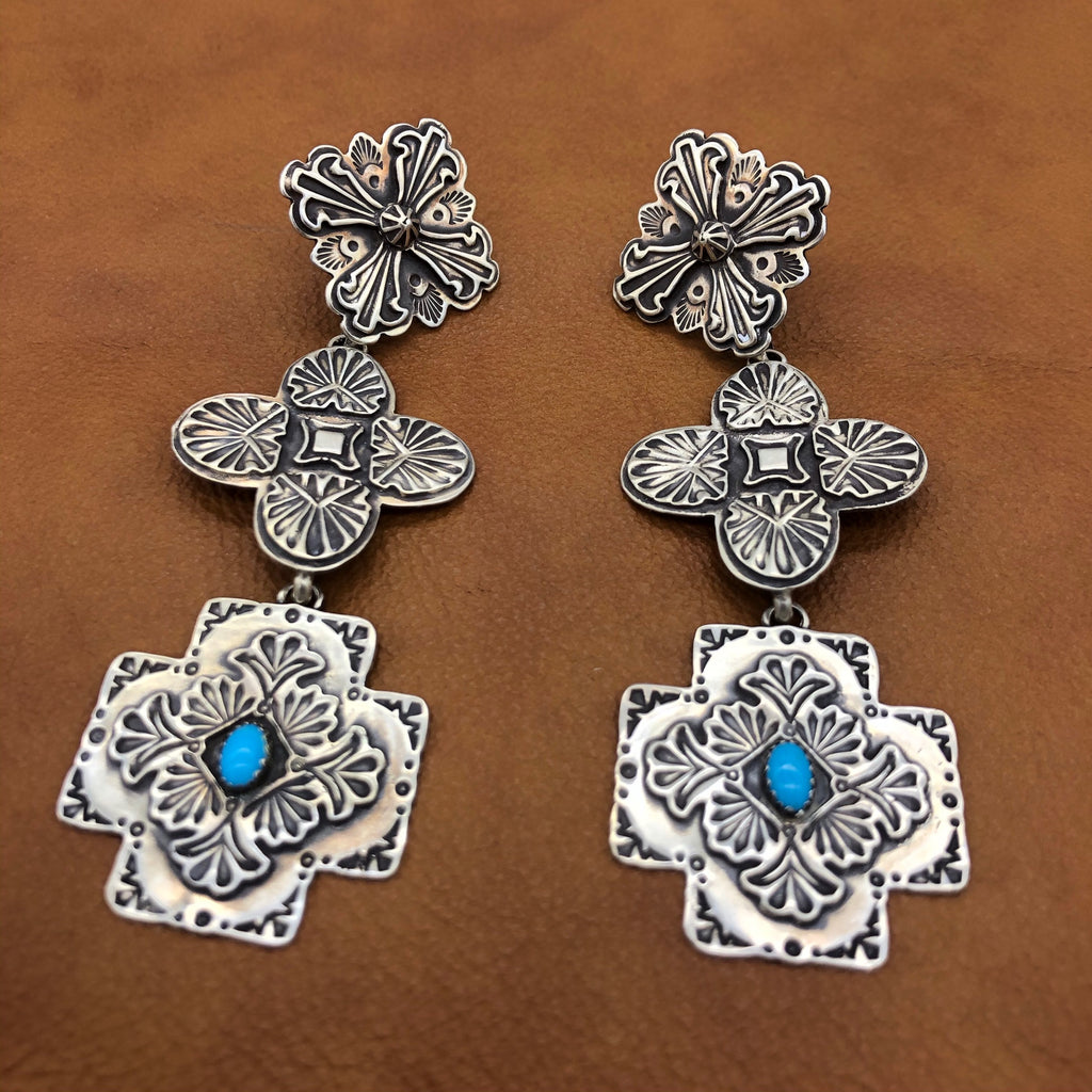 SALE Tres Cruces Earrings E155