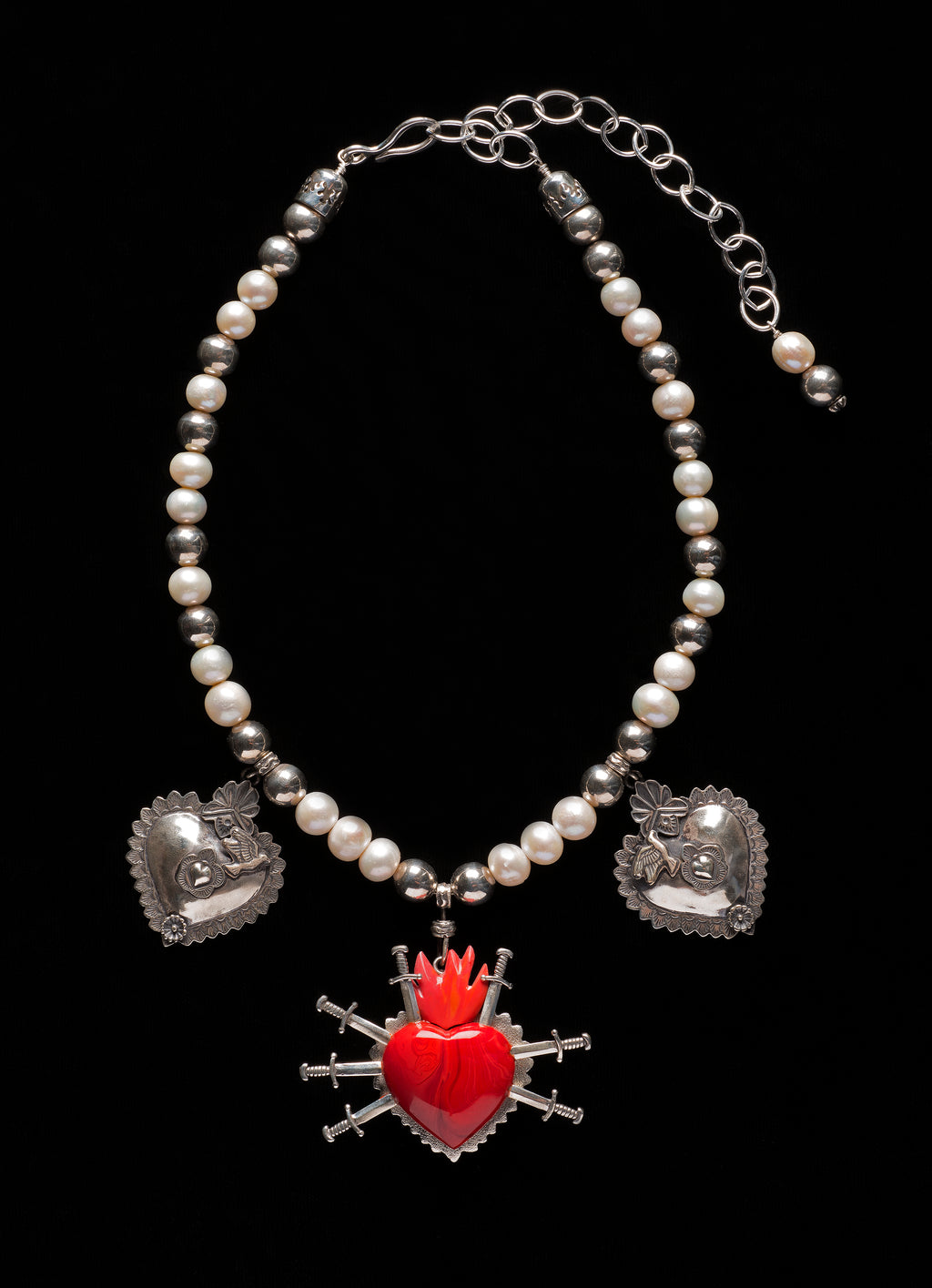 Award-winning Mater Dolorosa Necklace