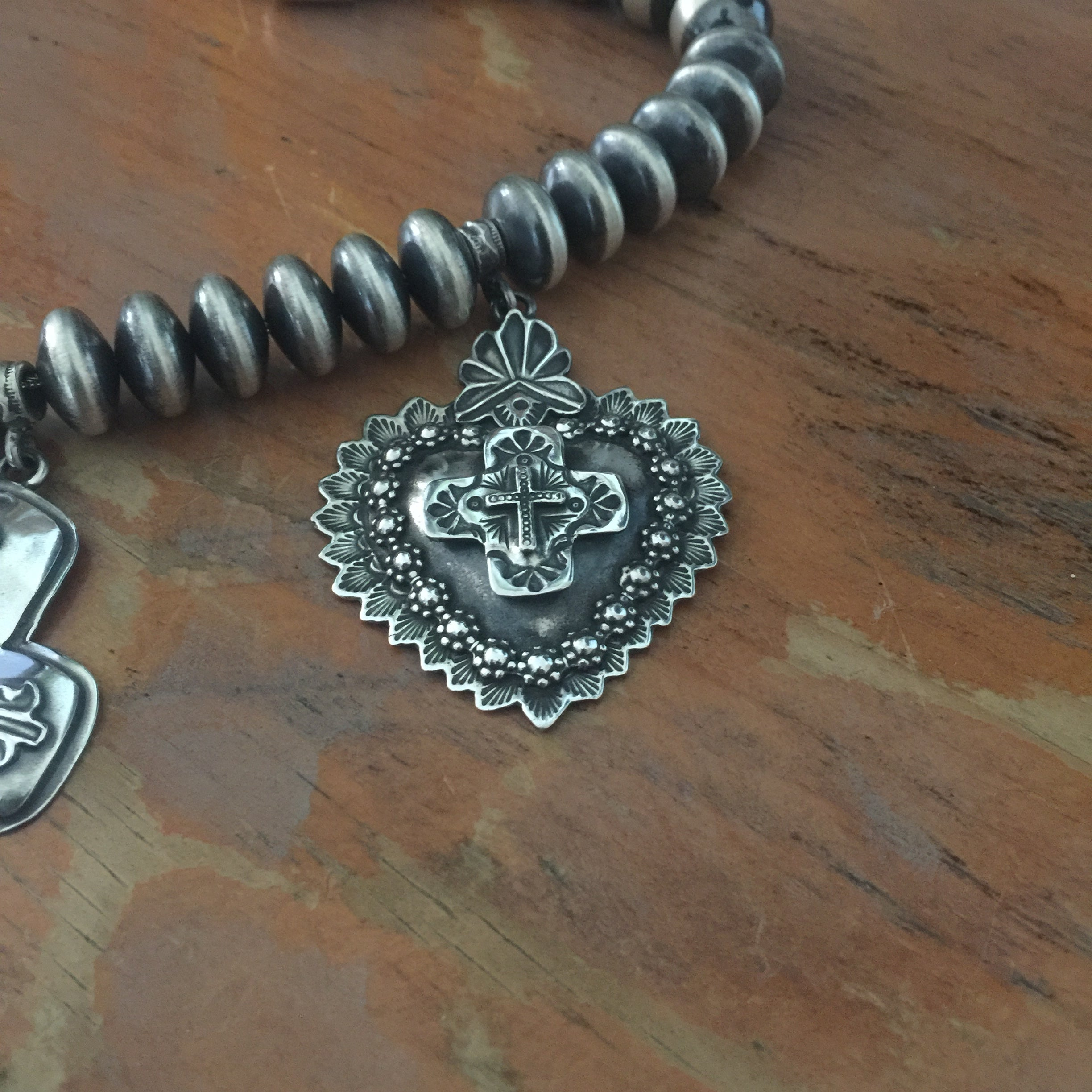 Award-winning My Mothers Heart Necklace