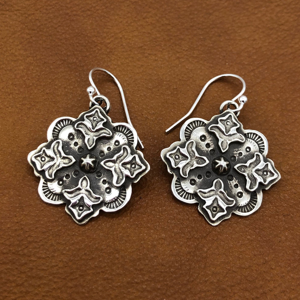25% OFF Flores Cross Earrings E139