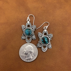 25% OFF Bosque with Turquoise Earrings E364