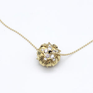 Contact to Inquire 18k Gold Star Diamond Pave´ Santa Fe Pearl Necklace