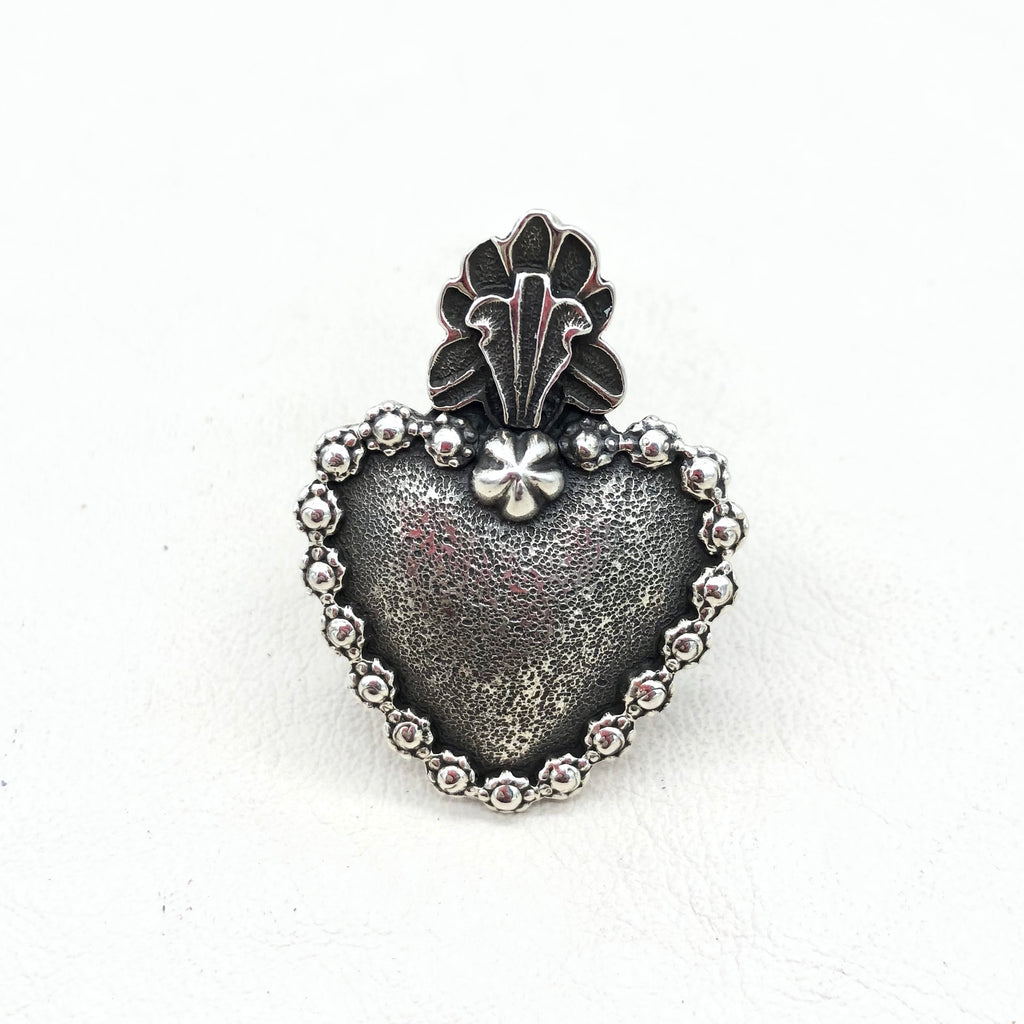 Poeh Heart Sterling Silver Ring