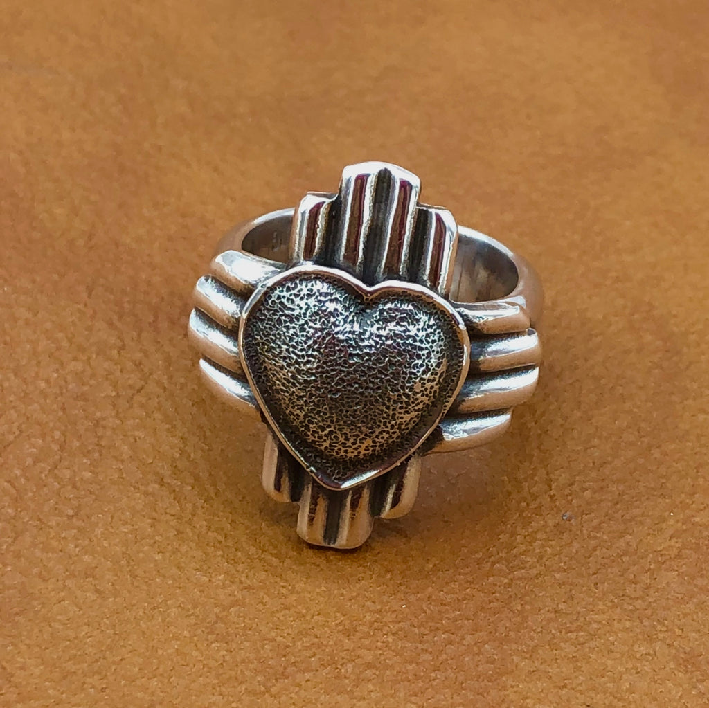 RHZ I Love New Mexico Zia Ring