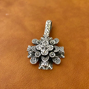Multi Layer Cross Pendant I