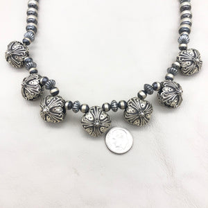 Contact to Inquire SP7 Santa Fe Pearl Truchas Necklace
