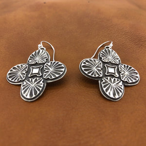 25% OFF E141 Sunrise Cross Earrings