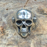 R35 Large 20mm Classic Skull Ring