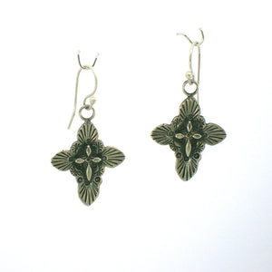 25% OFF E93 Ruidoso Cross Earrings