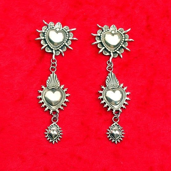 E137 Santa Rosa Mesilla Taos Earrings