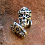 CL5 Mi Vida Loca (My Crazy Life) Skull Cuff Links